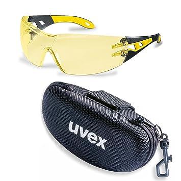 Uvex Supravision Lunettes Protection Pheos Excellence Noirjaune De eWYE29IDHb