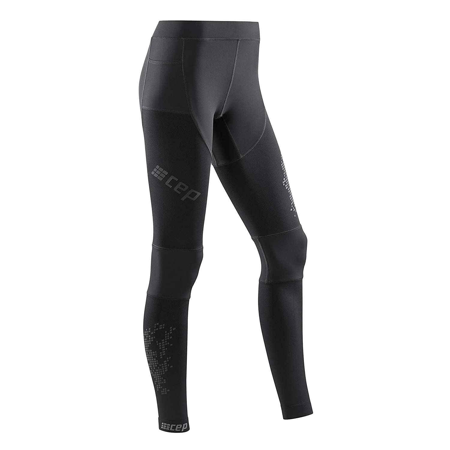 CEP - Run Tights 3.0 Laufhose in schwarz für Damen, extrem funktionale und Bequeme Sportleggins, Made by medi