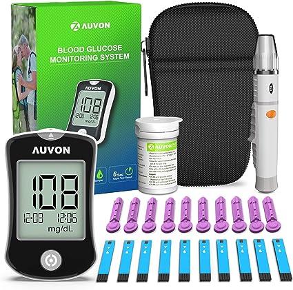 resultados del kit de pruebas de diabetes