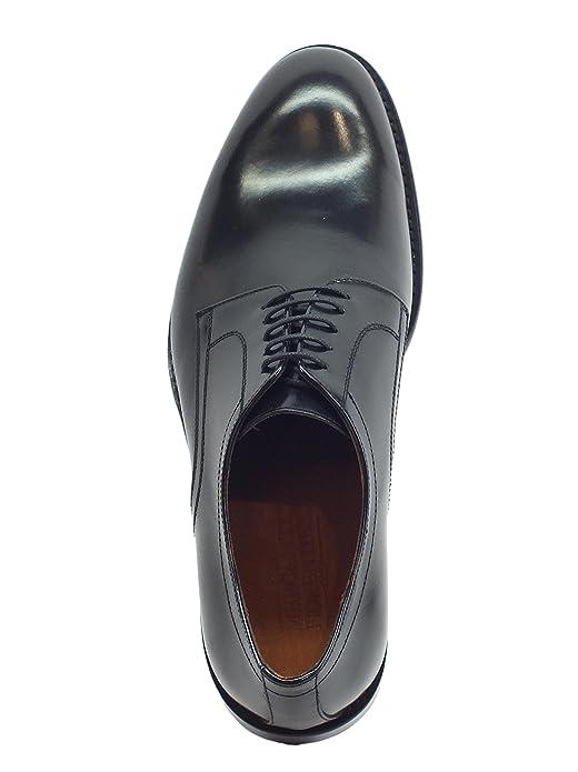 fd04ddb30867f Mercanti Fiorentini Scarpe Eleganti per Uomo Pelle abrasivata Nera   Amazon.it  Scarpe e borse