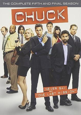 brand new 4516e bf18f Amazon.com: Chuck: The Complete Fifth and Final Season ...