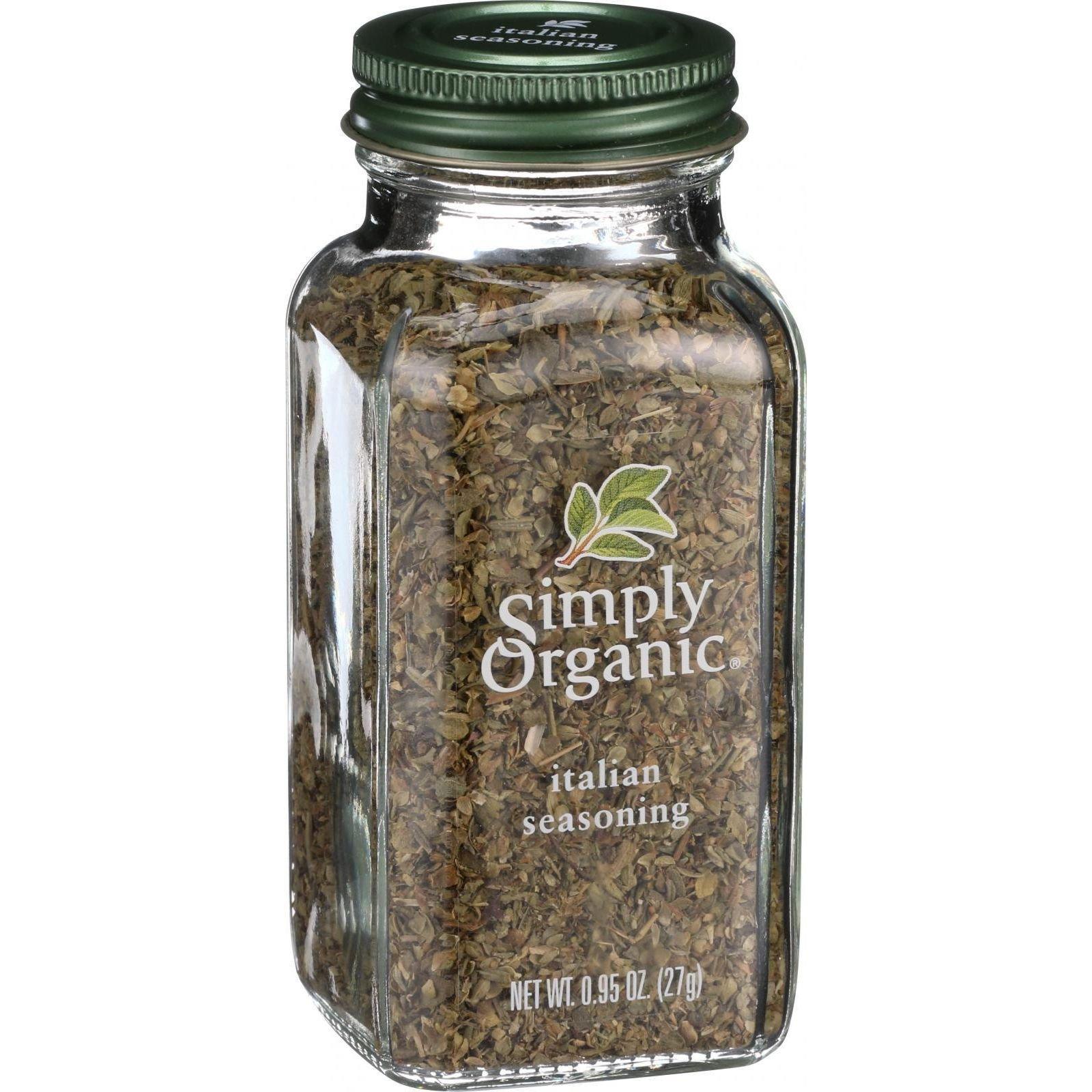 Simply Organic Italian Seasoning - Organic - .95 oz (Pack of 6)