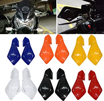 """7//8/"""" 22mm Handlebar Hand Guards Fit Honda Yamaha Suzuki KTM Polaris ATV Black"""