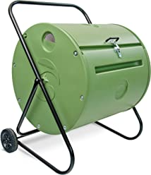 Mantis Back Porch ComposTumbler CT08002 - Engineered to Make Compost Fast - Holds 37 Gallons -