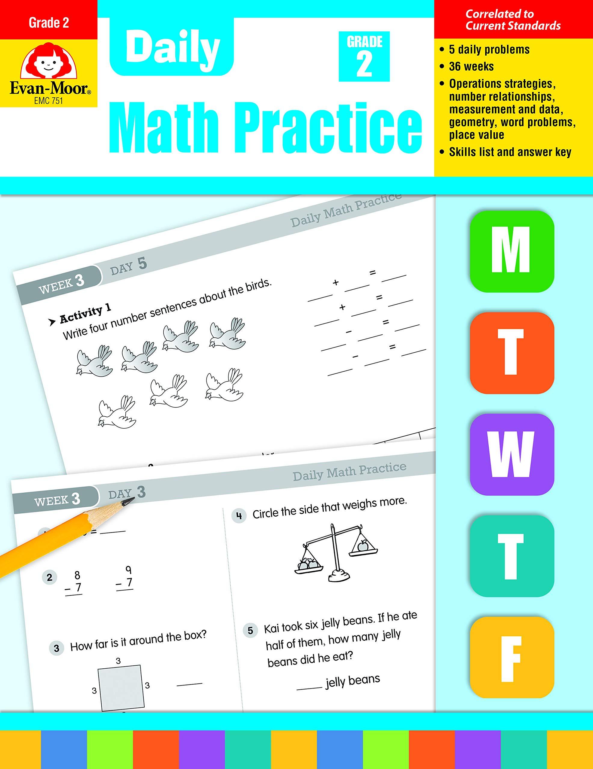 Evan-Moor Daily Language Review Grade 3 Activities Book