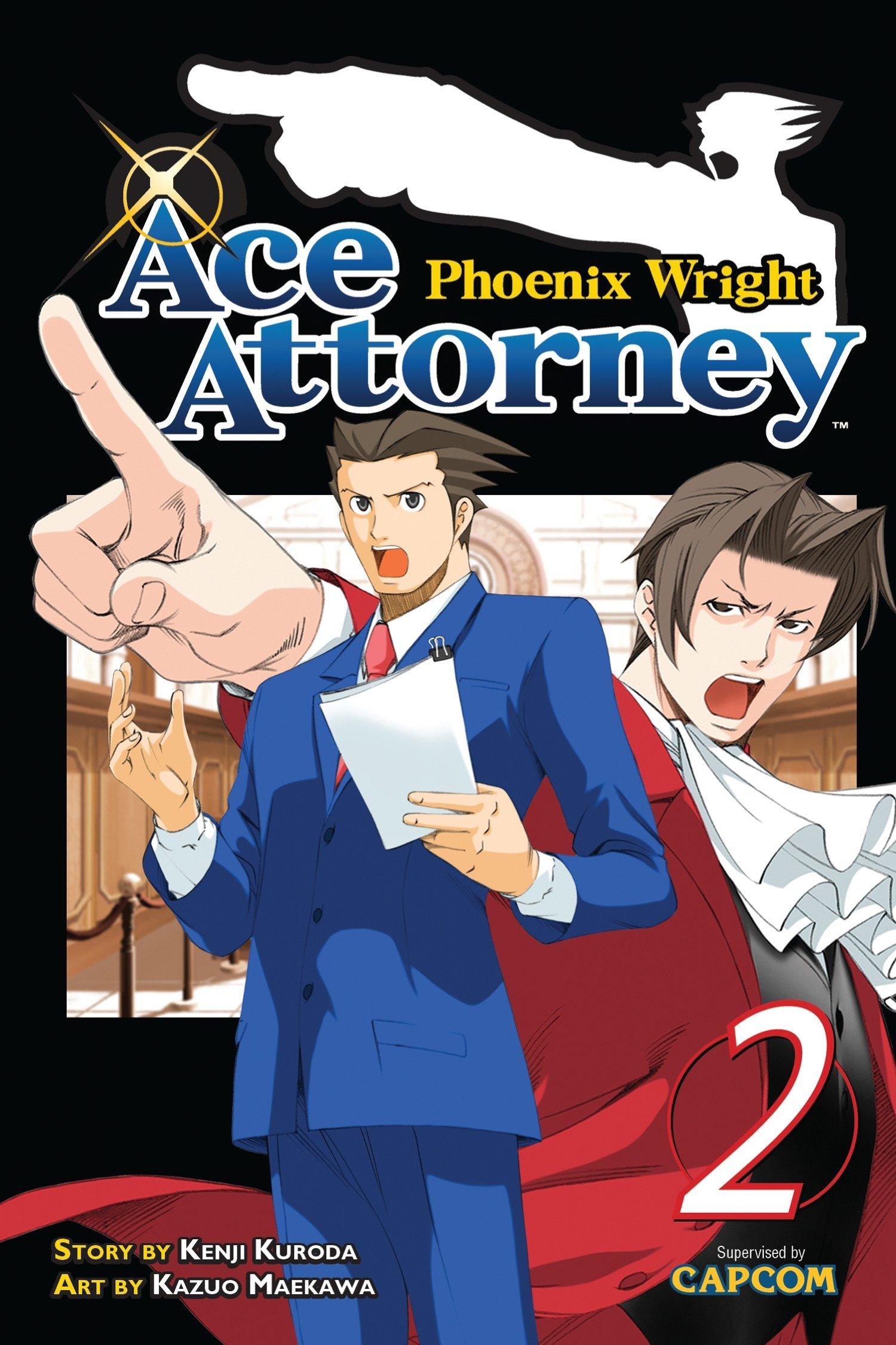 Phoenix Wright Ace Attorney 2 Kenji Kuroda Kazuo Maekawa