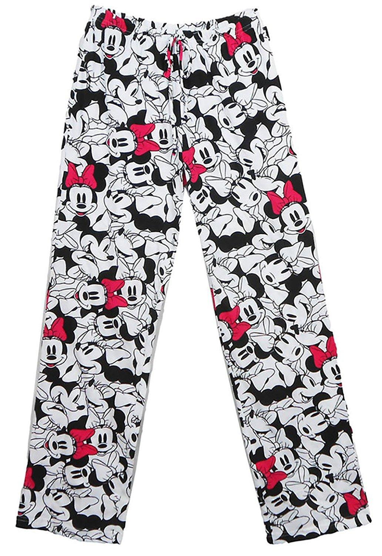 Disney ''So Minnie Mouse'' Faces PJ Pant White Large