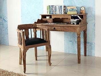 Secreter de Madera Maciza de Escritorio Mesa cómoda Auxiliar Muebles Bombay I