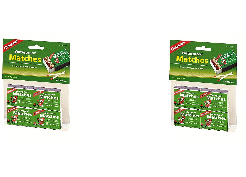Coghlan's 940BP Waterproof Matches, 4 pack (8 Packs) Coghlan' s