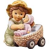 "Goebel 11740305 Figura Nina e Marco ""Nina con la bambola preferita"""