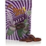 California Pitted Dates - No Sugar Added, Fat Free, All Natural Snack - Resalable Bag - 8oz - Kosher Dried Fruit by Gold Nut (1 Pack)