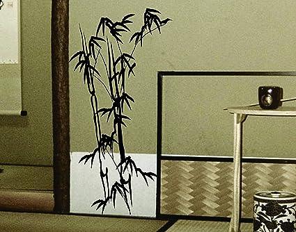 Bamboo Wall Mural Decal Sticker Vinyl Wall Decal Sticker Graphic Art