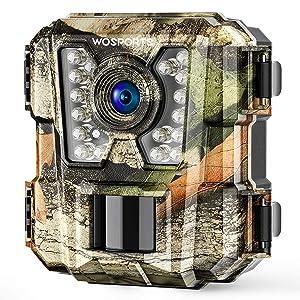 Wosports Mini Trail Camera 1080P HD Wildlife Scouting Hunting Camera