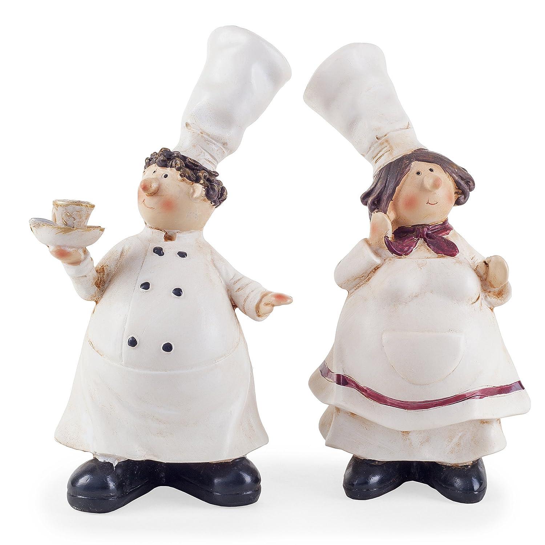 lucy leonard the fat chef statue figurine home decor kitchen