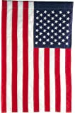 Evergreen Flag American Flag Regular Size Applique Flag - 28 x 44 Inches Outdoor Decor for Homes and Gardens