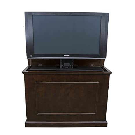 "release date b5713 b2283 Touchstone 72008 - Elevate TV Lift Cabinet - TVs Up To 50 Inch Diagonal  (45"" Wide TV) - Espresso - 50 In Wide - Quiet & Quick Whisper Lift II TV  Lift ..."