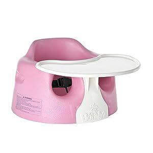 Bumbo 5020-11 - Conjunto de asiento para bebé y bandeja desmontable