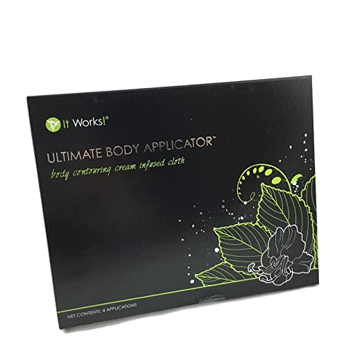 Amazon It Works Ultimate Body Wrap Applicators 4 Count With Fab Roll 82ft Bundle Beauty