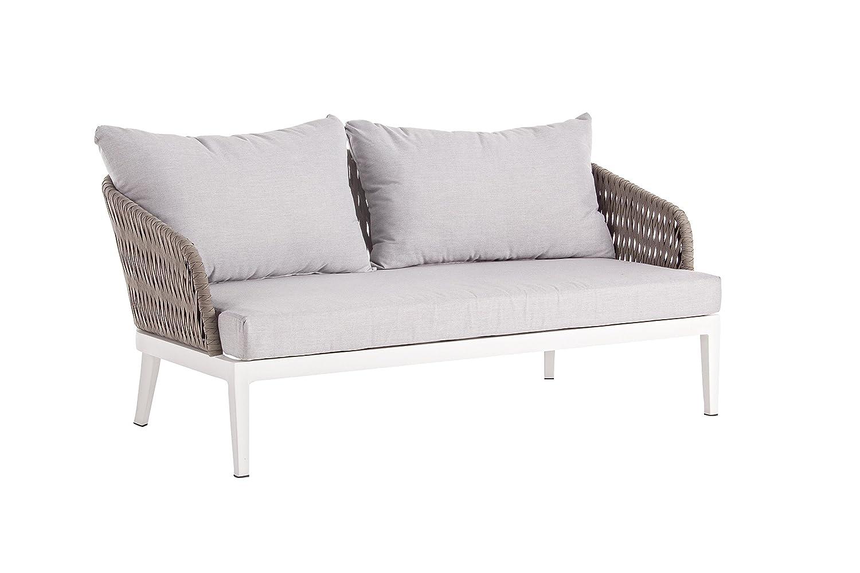 Bizzotto Gartenlounge Sofa Pelican Exklusiver Moderner 2 Sitzer