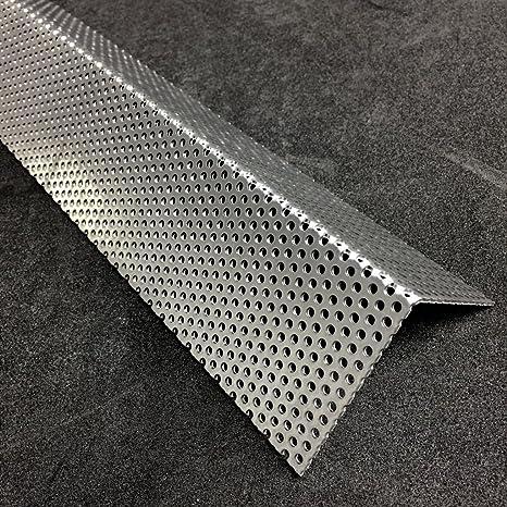 Qg 10-15 Alu Lochblech Aluminium 1000 mm x Ihre Wunschlänge x 2mm Neu