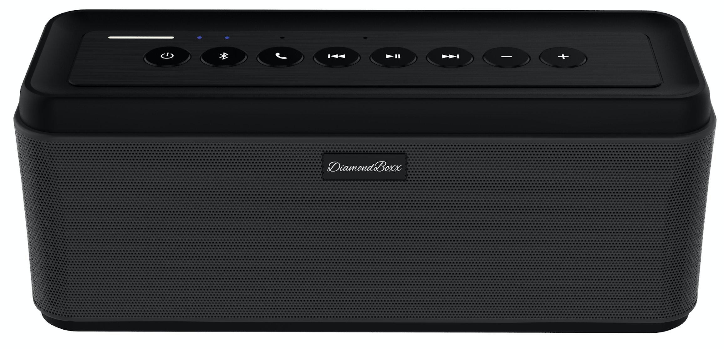 DiamondBoxx Model 40W Loud Small Wireless Portable Speaker, Louder and Better Sounding than anything else it's size