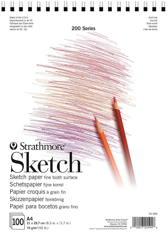 Strathmore SKETCH Serie 300 Skizzenbuch DIN A4 100 Blatt