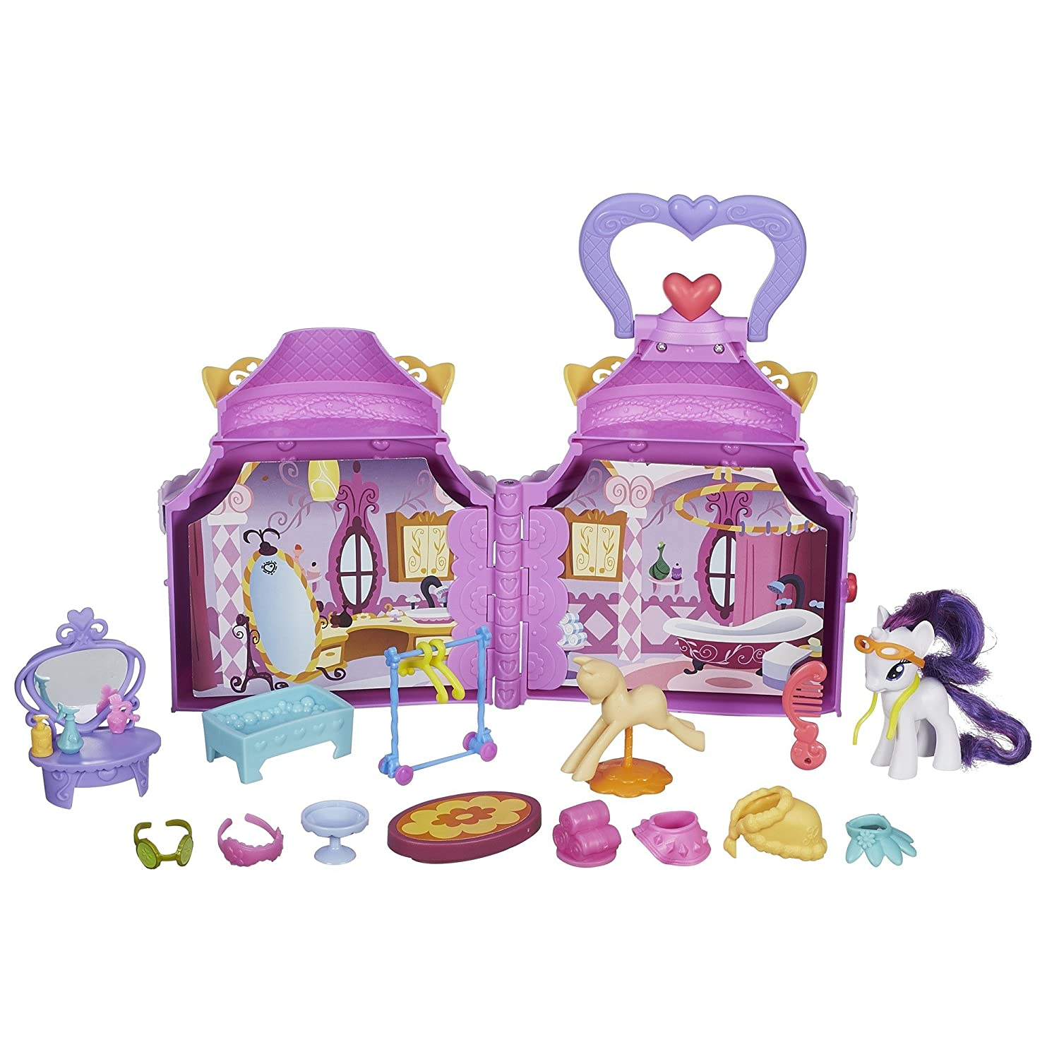 My Little Pony Cutie Mark Magic Rarity Booktique Playset(Discontinued by manufacturer)