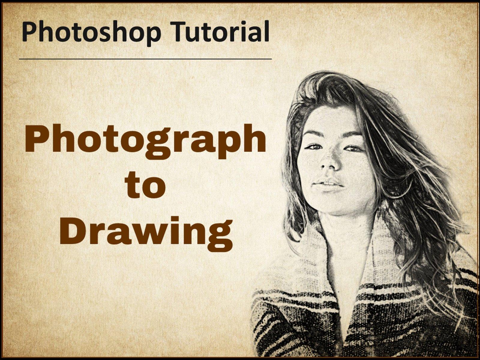 Amazon com: Photograph to Drawing - Photoshop Tutorial: Noel