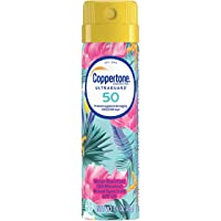 Coppertone ULTRA GUARD Sunscreen Continuous Spray SPF 50 (1.6 Ounce)