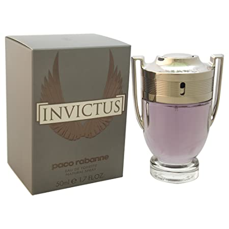 Paco Rabanne Invictus Eau de Toilette Spray for Men, 1.7 Ounce