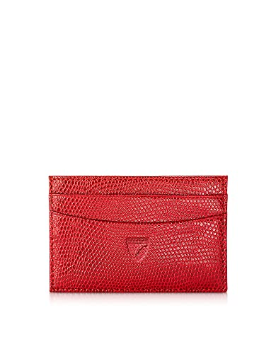 new products 35473 0ca33 Aspinal of London Designer Handbags Lizard Berry Slim Credit Card ...