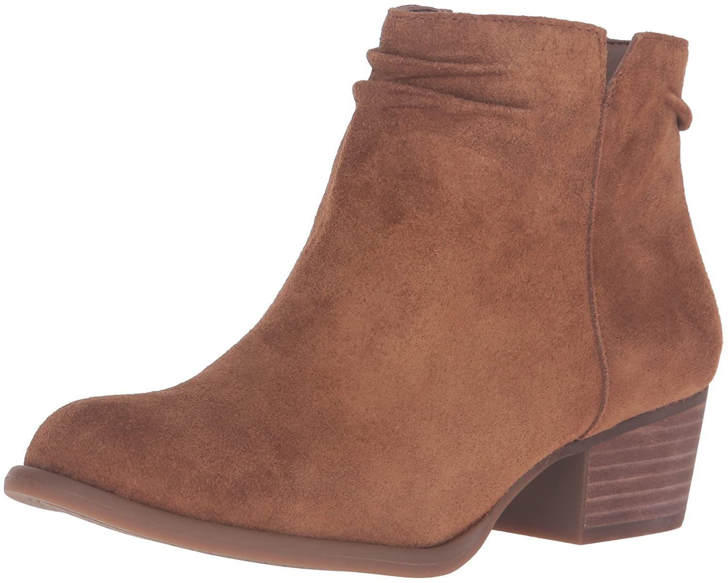 Jessica Simpson Women's Dallyn Ankle Bootie B01HQ02C4S 6.5 B(M) US|Canela Brown