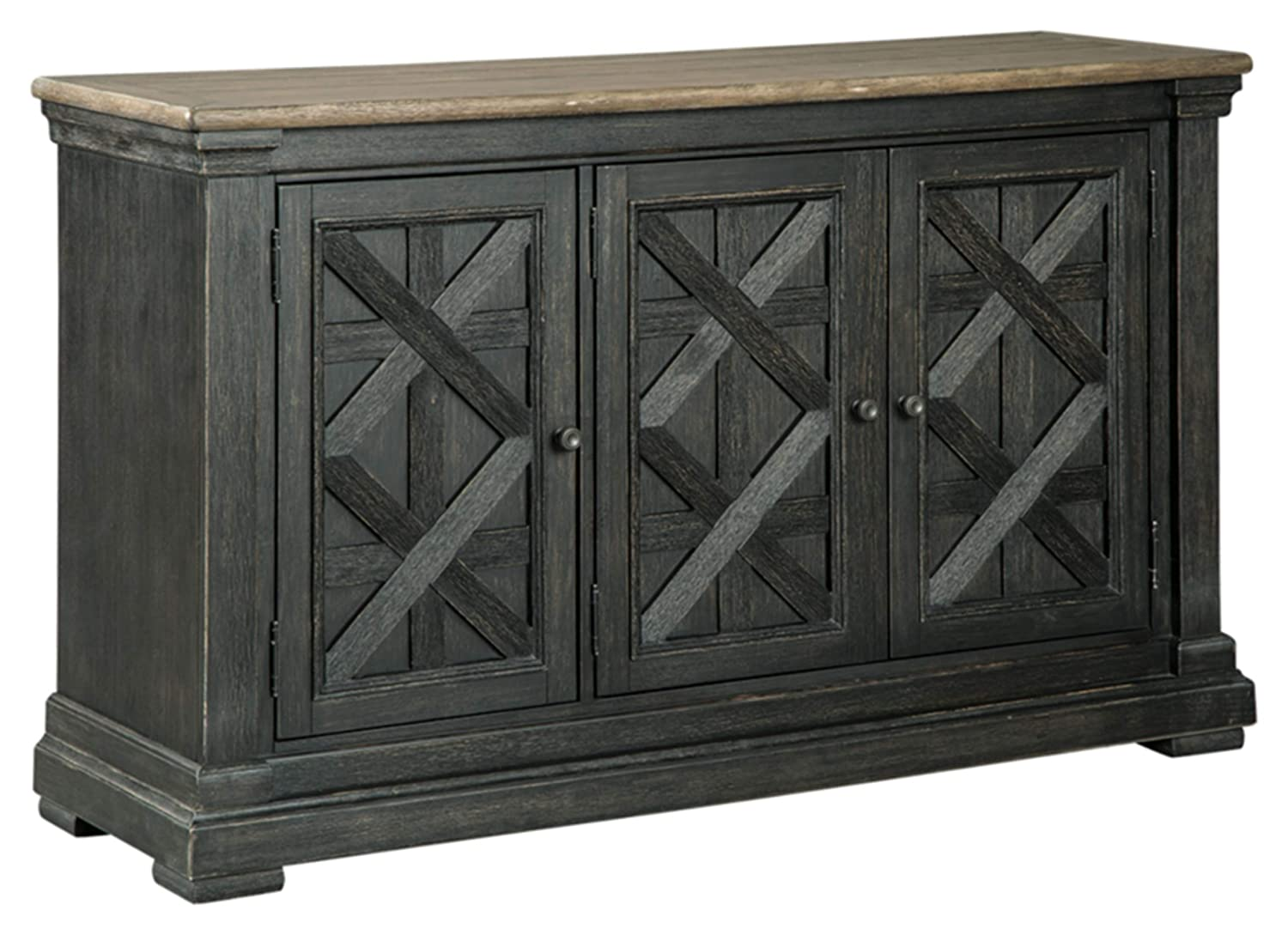 Ashley Furniture Signature Design - Tyler Creek Dining Room Server - Black/Gray