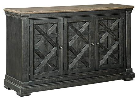 Ashley Furniture Signature Design – Tyler Creek Dining Room Server – Black Gray