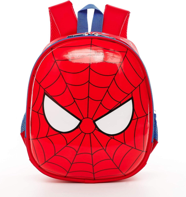 NEW 3D SPIDERMAN Backpack For boys Cute cartoon bag kindergarden Travel bag kids