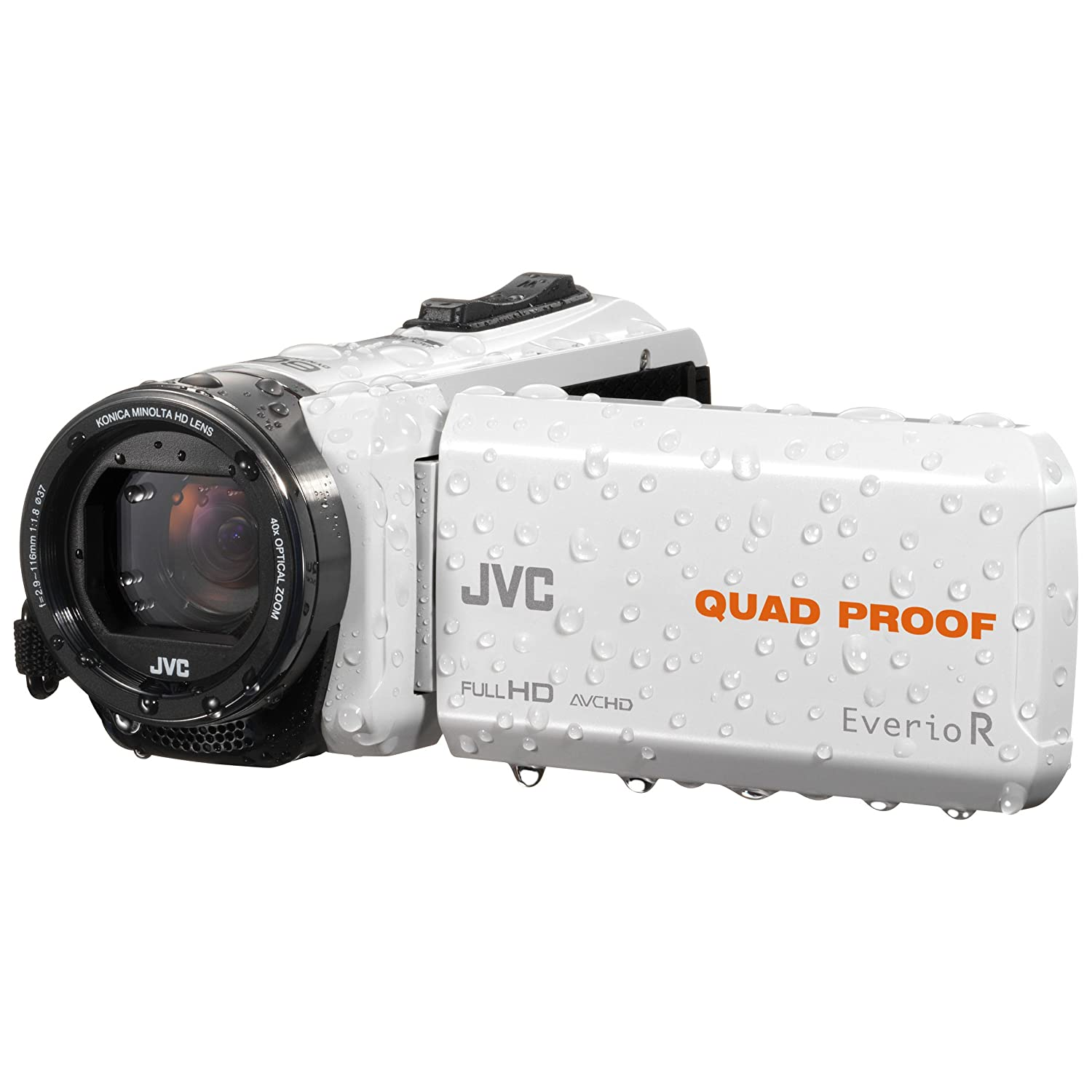 JVC GZ-R435 - Videocámara (2,5 MP, CMOS, 25,4/5,8 mm (1/5.8