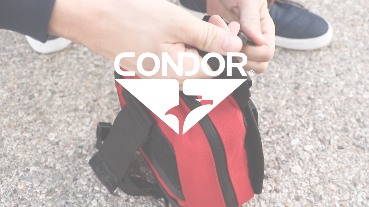 Condor Rip-Away EMT Lite Pouch