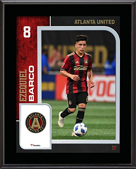 official photos 84a96 8bde8 Ezequiel Barco Atlanta United FC 10.5'' x 13'' Sublimated ...