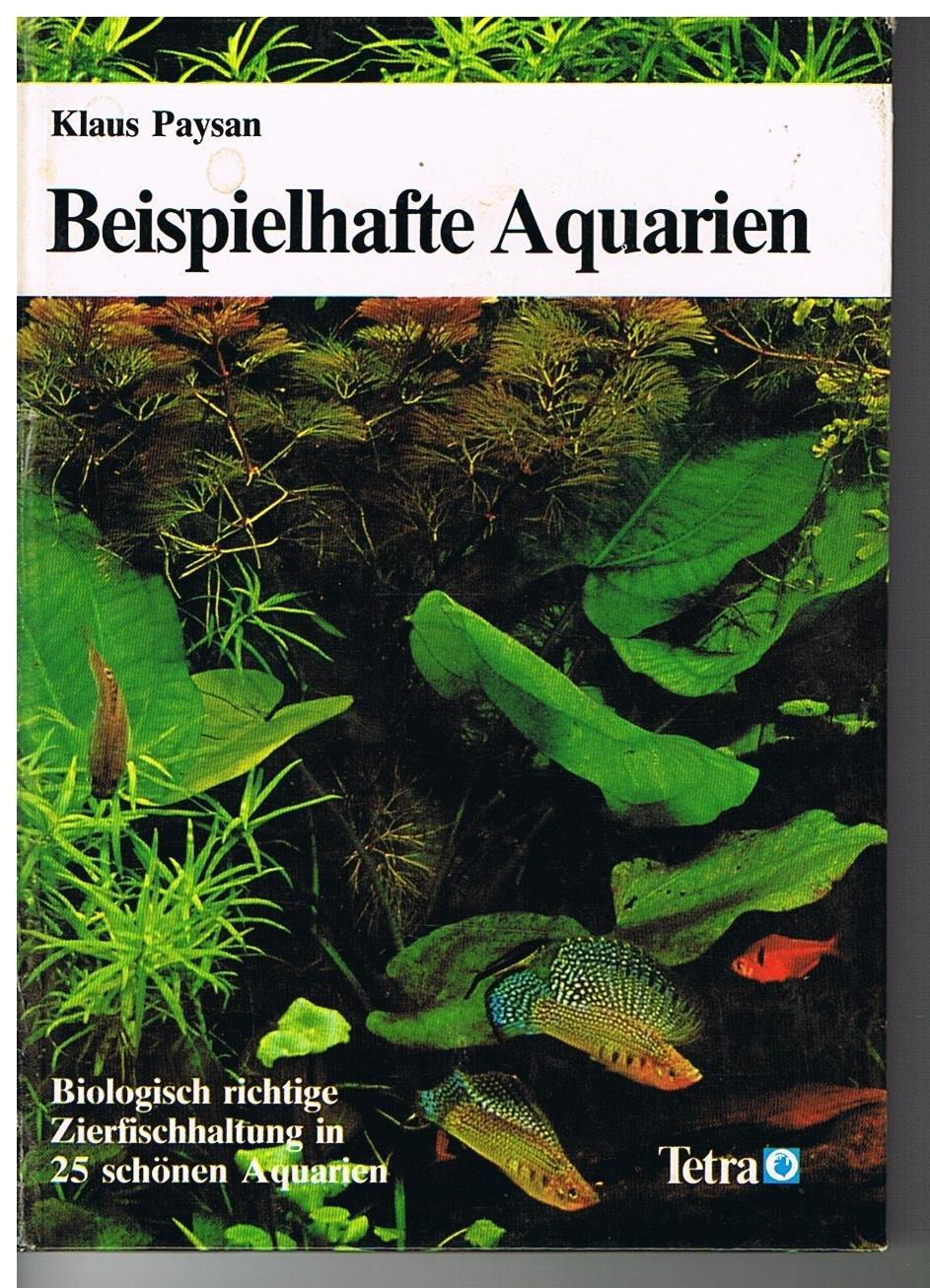 Beispielhafte Aquarien