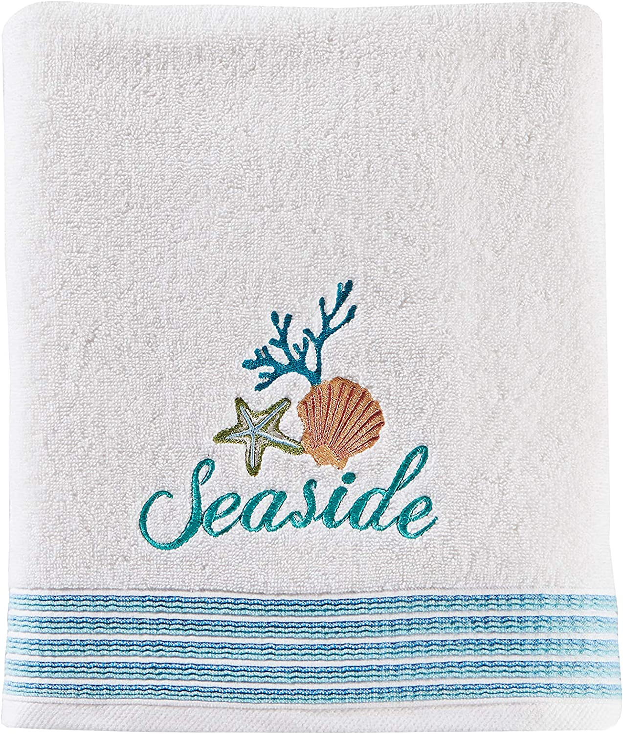 SKL Home by Saturday Knight Ltd. South Seas Bath Towel, White