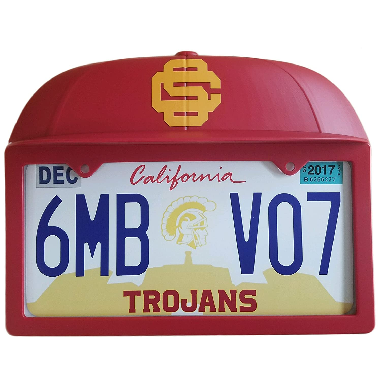 USC troyanos de la matrícula Soporte w/diseño de 3d gorra de béisbol ...