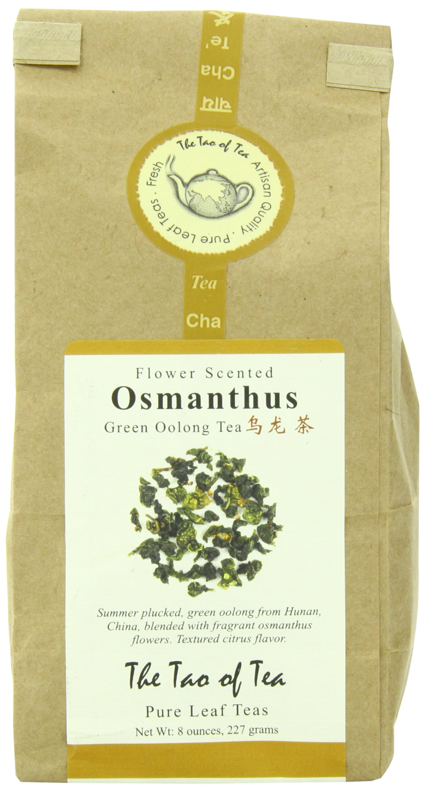 The Tao of Tea Osmanthus Oolong, 8 Ounce Bag