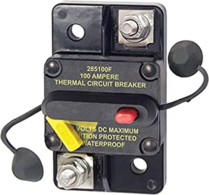 DC Circuit Breaker 40 Amp 48V Blue Sea Systems Surface Mount FREE EU Delivery