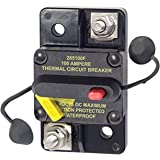 Blue Sea Systems 7187-BSS 187 Series, 285 Series & Klixon Circuit Breakers, 285 Series, Surface Mount, 100A DC