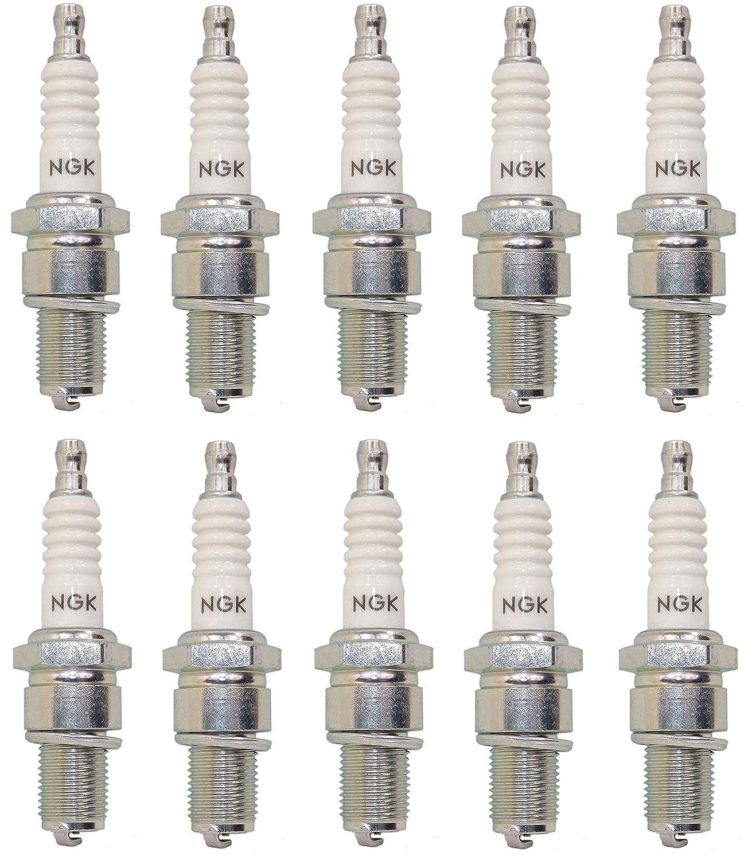 NGK 4832 BR10ES Standard Spark Plug Pack of 1