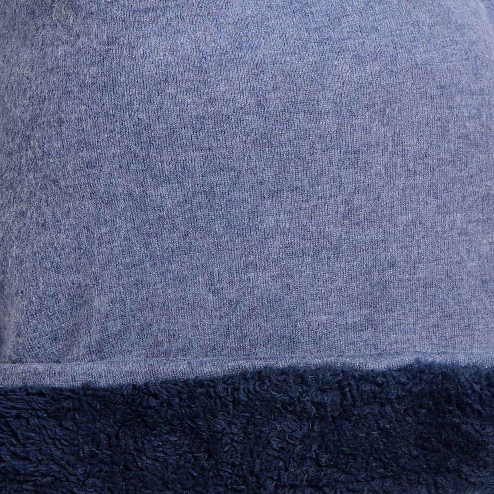 DonDon Berretto Jersey da Uomo per tutto lanno classico Slouch Style morbido e traspirante in taglia unica
