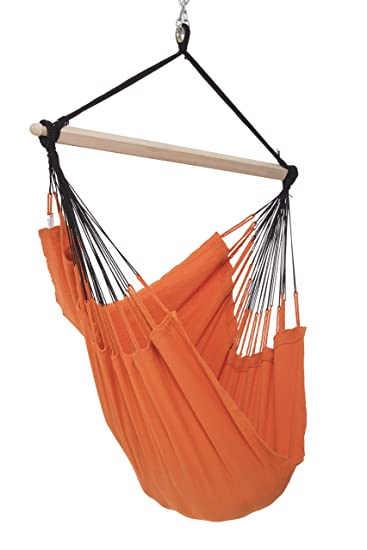 colombian hammock chair   44 inch   natural cotton cloth  tangerine  amazon     colombian hammock chair   44 inch   natural cotton      rh   amazon