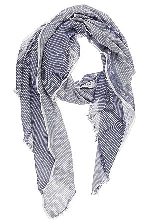 Emporio Armani écharpe homme blu  Amazon.fr  Vêtements et accessoires b5bcc6649cc