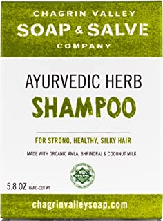 product image for Organic Natural Shampoo Bar, Ayurvedic Herb, Chagrin Valley Soap & Salve