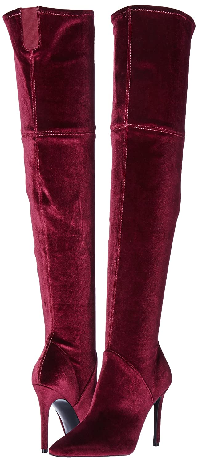 70889ae85be Amazon.com  KENDALL + KYLIE Women s Ayla2 Over The Over The Knee Boot  Shoes